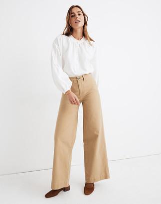 Madewell Petite Emmett Wide-Leg Pants