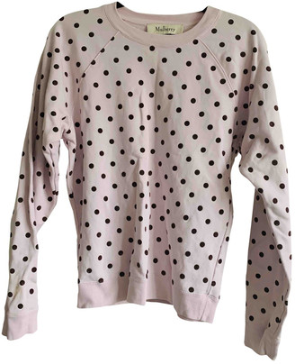 Mulberry Pink Cotton Knitwear