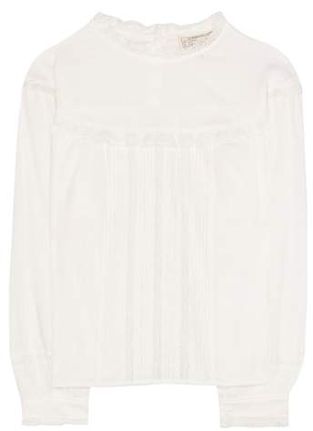 Current/Elliott The Whittier cotton blouse