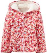 Joules Floral Reversible Cotton Fleece Jacket - Size 6-9