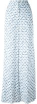 Peter Pilotto printed palazzo pants - women - Viscose - 6