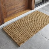 "Crate & Barrel Natural Knotted 24""x48"" Doormat"