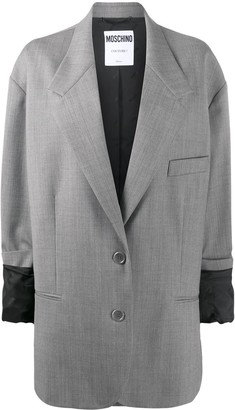 Moschino Oversized Single-Breasted Blazer