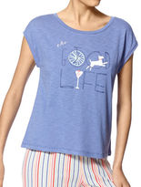 Hue Plus Good Life Muscle Sleep Tee