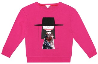 Little Marc Jacobs Sequined cotton-blend sweater