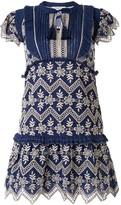 Sea Broderie Anglaise mini dress