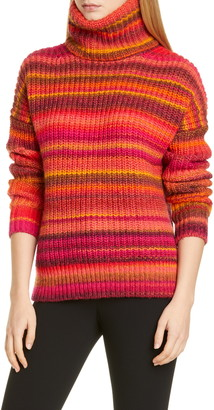 Altuzarra Kelley Stripe Wool Blend Turtleneck Sweater