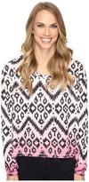Roper 0612 Sweater Jersey Crop Shirt