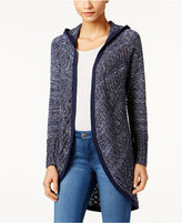 Style&Co. Style & Co. Pointelle Hooded Cardigan, Only at Macy's
