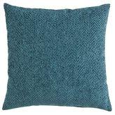 Pier 1 Imports Herringbone Chenille Spruce Pillow
