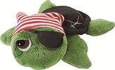 Suki Gifts Li'l Peepers Pirate Turtle Soft Boa Plush Toy (Small, Green) by Suki Gifts