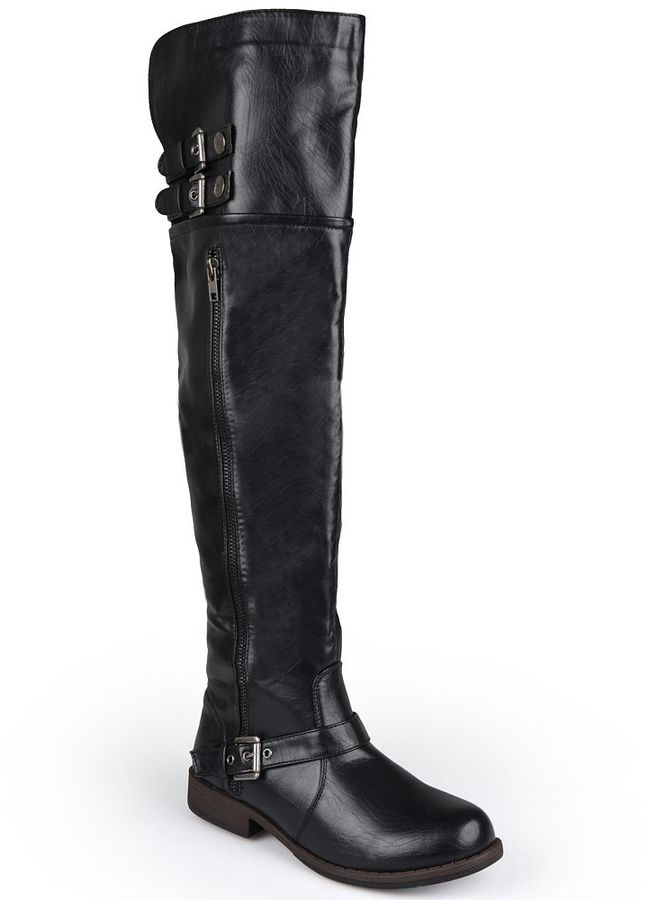 Journee Collection Kimberley Over-the-Knee Boots - Women