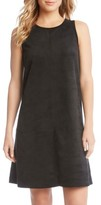 Karen Kane Women's Faux Suede A-Line Dress