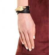 Valentino Gryphon leather wrap bracelet