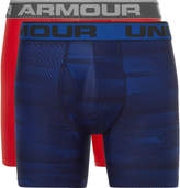 Under Armour Boxerjock Two-pack Heatgear Boxer Briefs - Navy