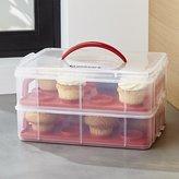 Crate & Barrel Cuisinart ® 2-Tier Cupcake Carrier