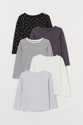 H&M 5-Pack Jersey Tops