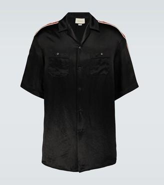 Gucci Short-sleeved acetate shirt