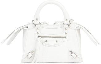 Balenciaga Neo Classic City Mini Bag in White | FWRD
