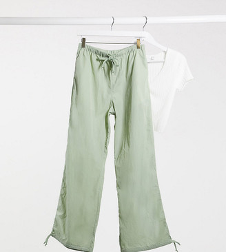 Collusion nylon jogger in khaki