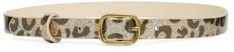 Bonton Leopard Print Belt