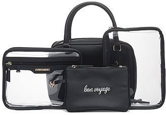 Hudson + Bleecker Preto Voyager Toiletry Bag