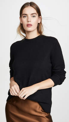 Theory Solid Crew Cashmere Pullover
