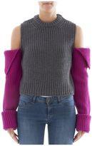 Calvin Klein Grey Wool Sweatshirt