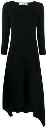 Dorothee Schumacher Fine Knit Asymmetric Dress