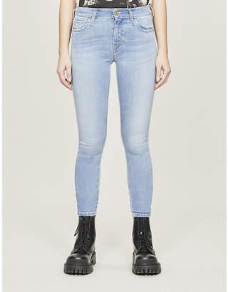 Diesel Slandy skinny mid-rise jeans