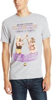 WWE Men's Legends Wrestlemania 6 Hulk Hogan Vs. Ultimate Warrior Licensed Tee, Heather Grey, Medium