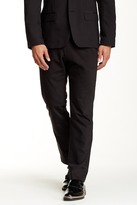 "Kenneth Cole New York Flat Front Dress Pant - 29-34"" Inseam"