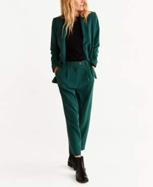 MANGO Unstructured Suit Blazer