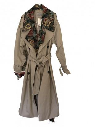 Asos Beige Cotton Trench Coat for Women