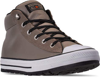 Converse Men Chuck Taylor All Star Street Mid Boots from Finish Line