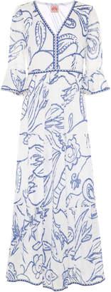 Le Sirenuse Positano Bella Paisley Maxi Dress