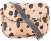 Sonia Rykiel Cheetah Print Ponyhair Crossbody Bag