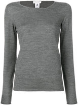 Le Tricot Perugia crew neck jumper - women - Virgin Wool - S