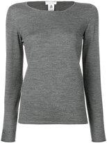 Le Tricot Perugia crew neck jumper - women - Virgin Wool - Xxxl