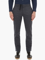 Maison Margiela Grey Relaxed Wool Trousers