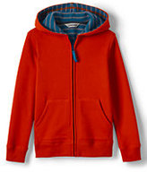 Classic Boys Waffle Lined Hoodie-Navy Blue