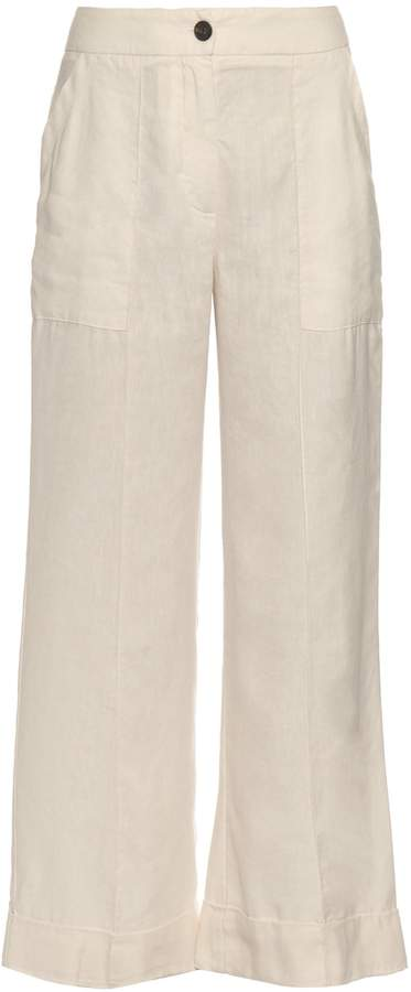 Raquel Allegra Flared cropped trousers