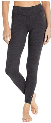 Smartwool Merino 250 Base Layer Bottoms (Charcoal Heather) Women's Casual Pants