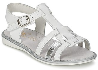 Citrouille et Compagnie ROLUI girls's Sandals in White