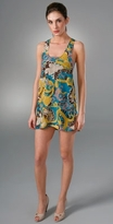 Karen Zambos Vintage Couture Print Tank Dress