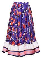 Emilio Pucci Ranuncoli Ruffle Midi Skirt