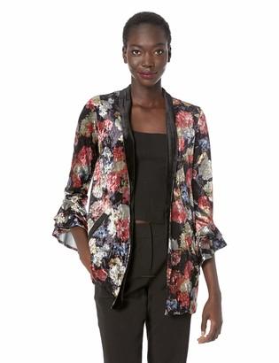 BCBGeneration Women's Ruffle Sleeve Blazer
