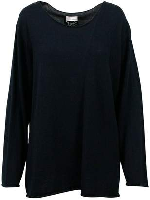 RED Valentino Black Cashmere Knitwear