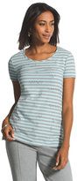 Chico's Fallon Cozy Striped Tee