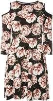Dorothy Perkins Black Floral Dress